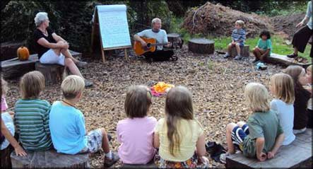 Second Grade - song circle