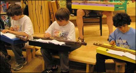 Fifth-grade - Dulcimer preformance