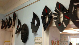 Mask made by the 1st grade