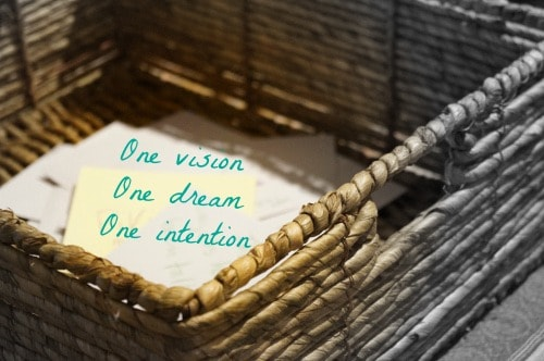 One vision. One dream. One wish.