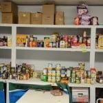 Pantry shelves after RCS food drive (2)