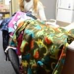 Some of the 67 pajamas we donated