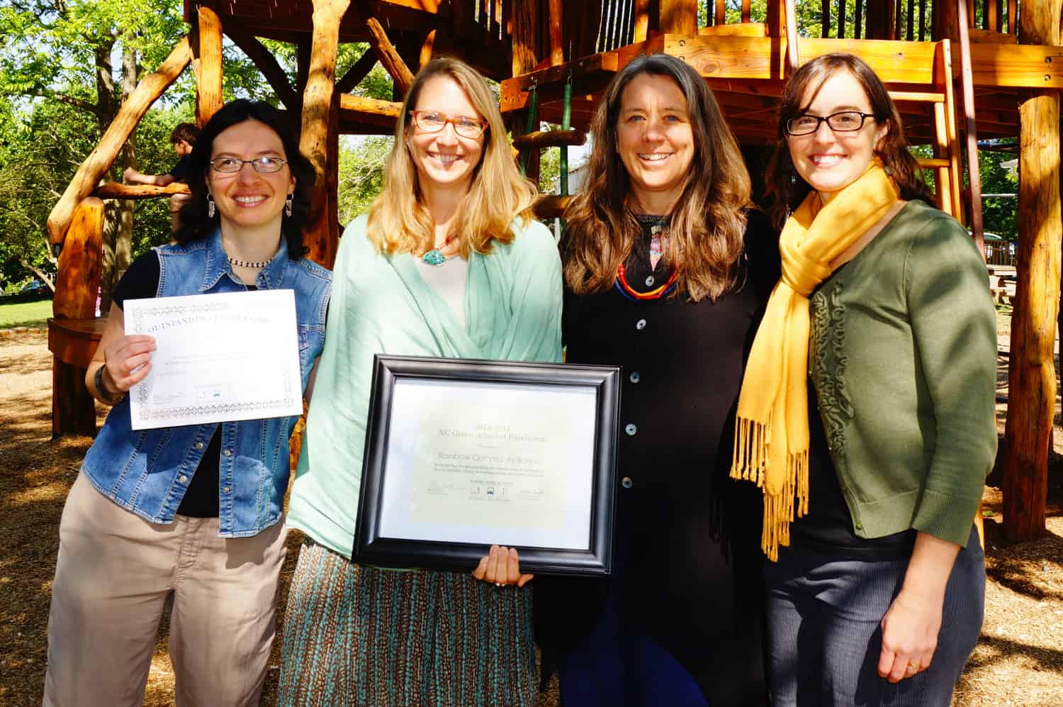 Rainbow Receives NC Green School of Excellence Award