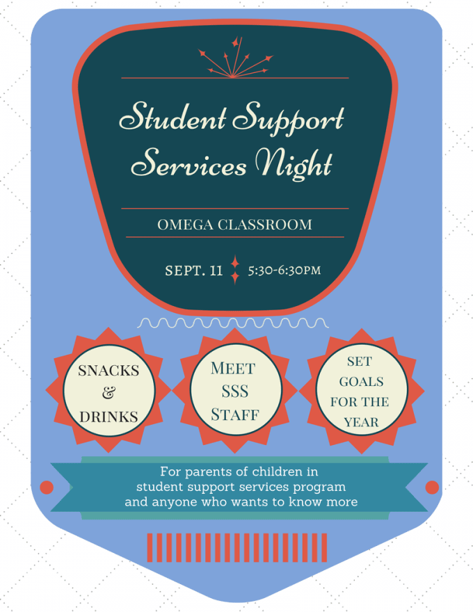 Sutdent Support Services Night!-2
