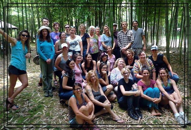 End of staff retreat Photo credit: Michael Lightweaver, Mountain Light Sanctuary