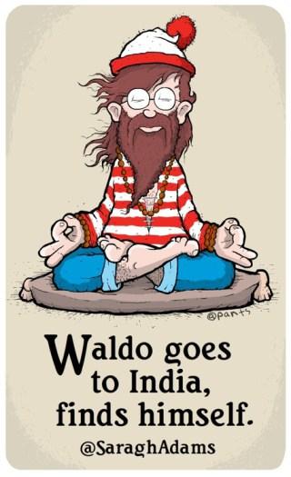 Does Waldo Work at Rainbow Community School?