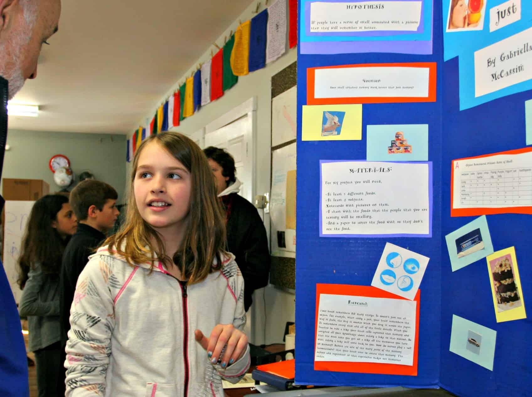 The Annual Rainbow Science Fair