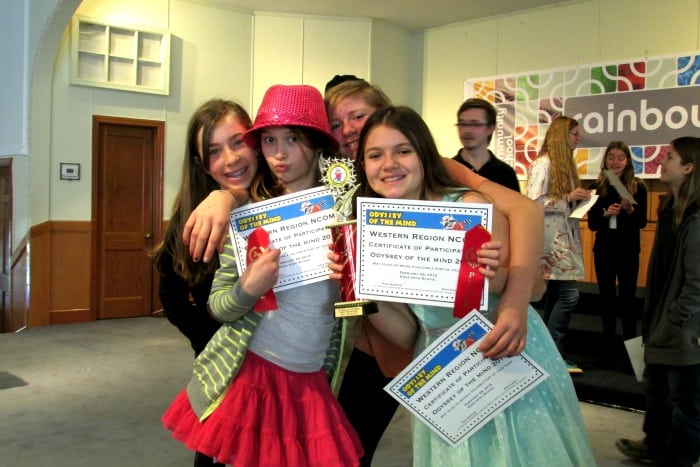 Rainbow's Going to State Odyssey of the Mind Competition