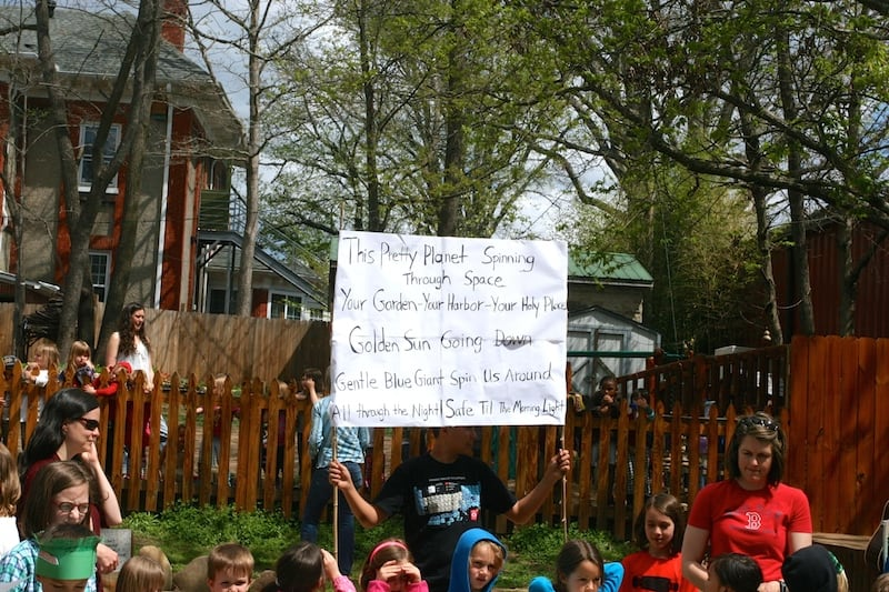 Earth Day poem.