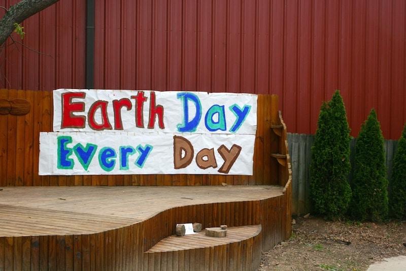 Earth Day at Rainbow Community School.