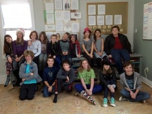 Rainbow Community School Student Poetry Published in the Mountain Xpress.