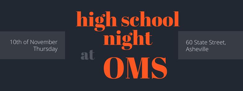 High School Info Night 2016