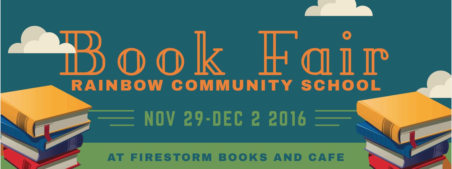 Rainbow Community School Annual Book Fair