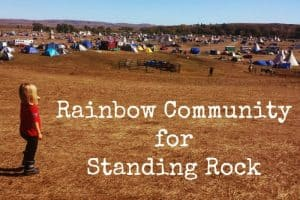 Rainbow Community For Standing Rock