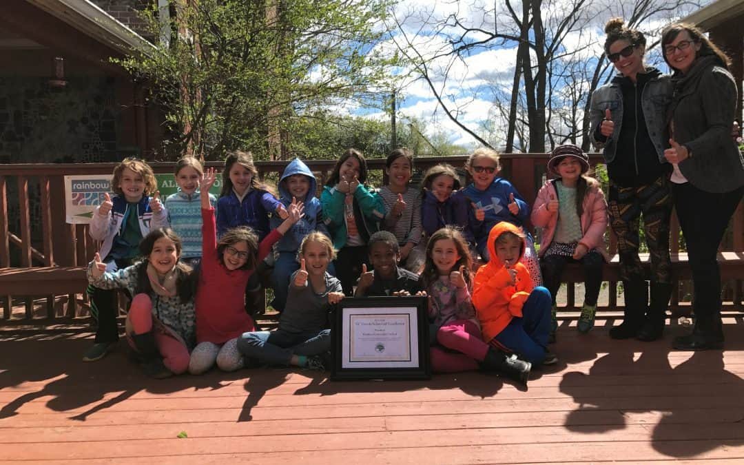 RCS's Awarded Prestigious Green School of Excellence!