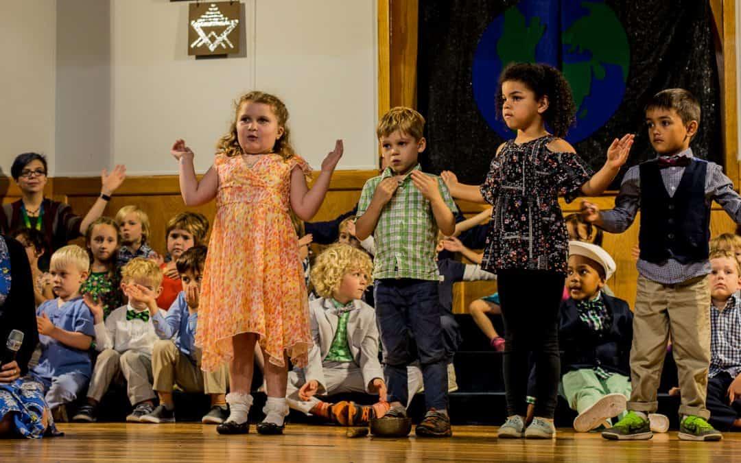 Preschoolers Lead The Way in Deep Breaths