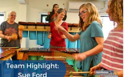 Sue Ford – Our Marimba Master – Team Highlight