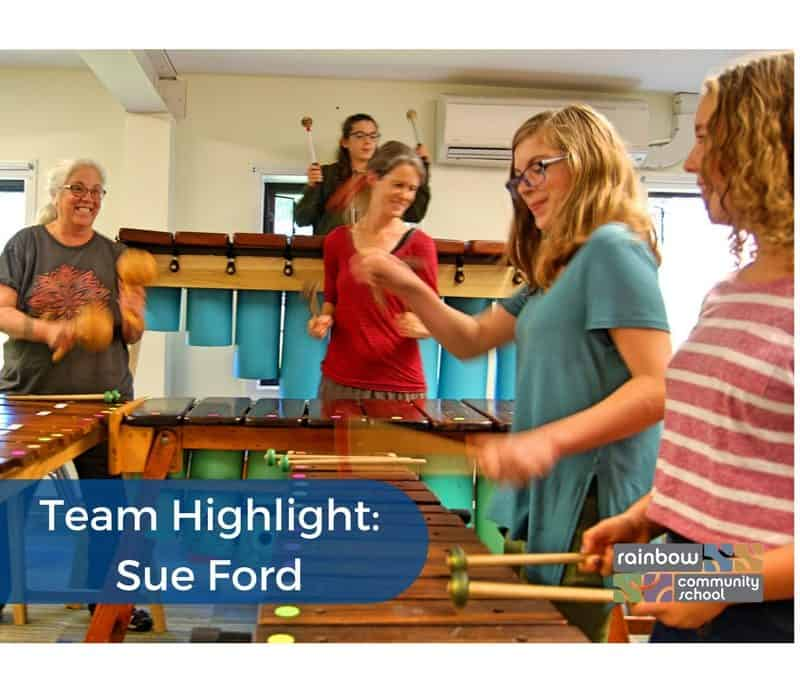 Sue Ford – Our Marimba Master – Team Highlight