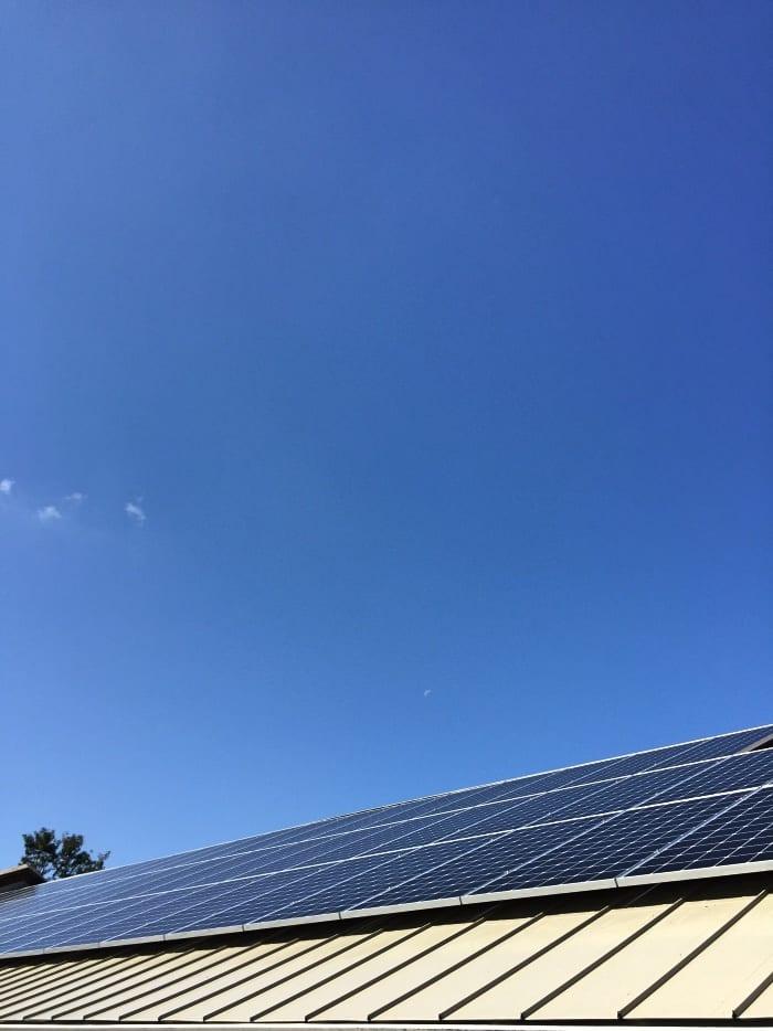 solar power and solar panels