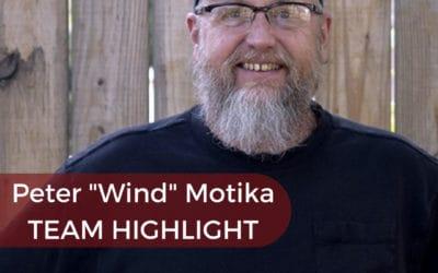 """Team Highlight: Peter """"Wind"""" Motika"""