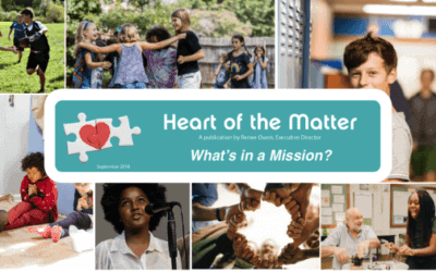 The Heart of the Matter: What's In a Mission?