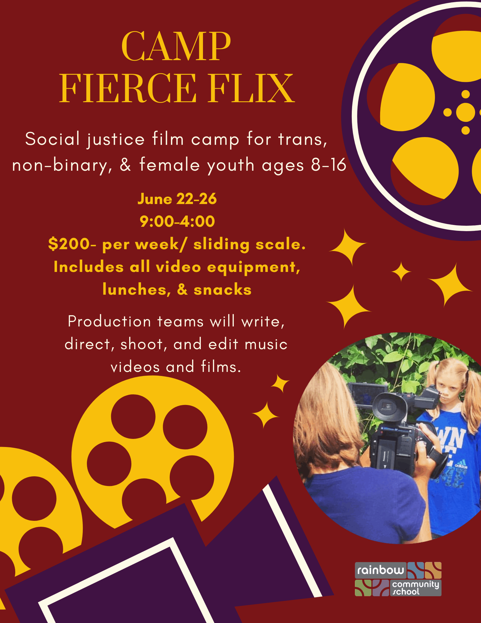 fierce flix summer camp