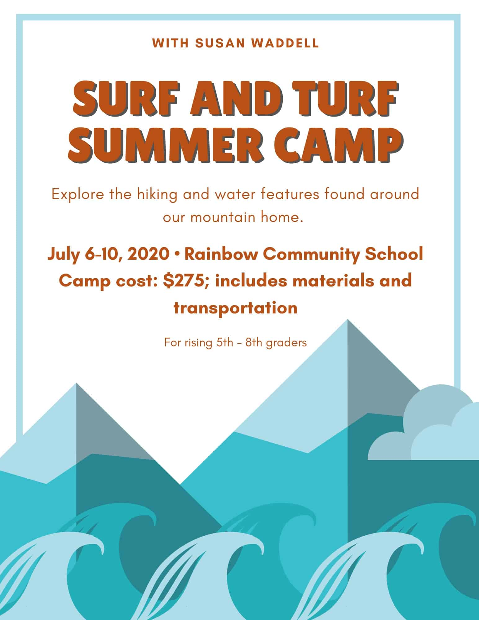 surf and turf summer camp