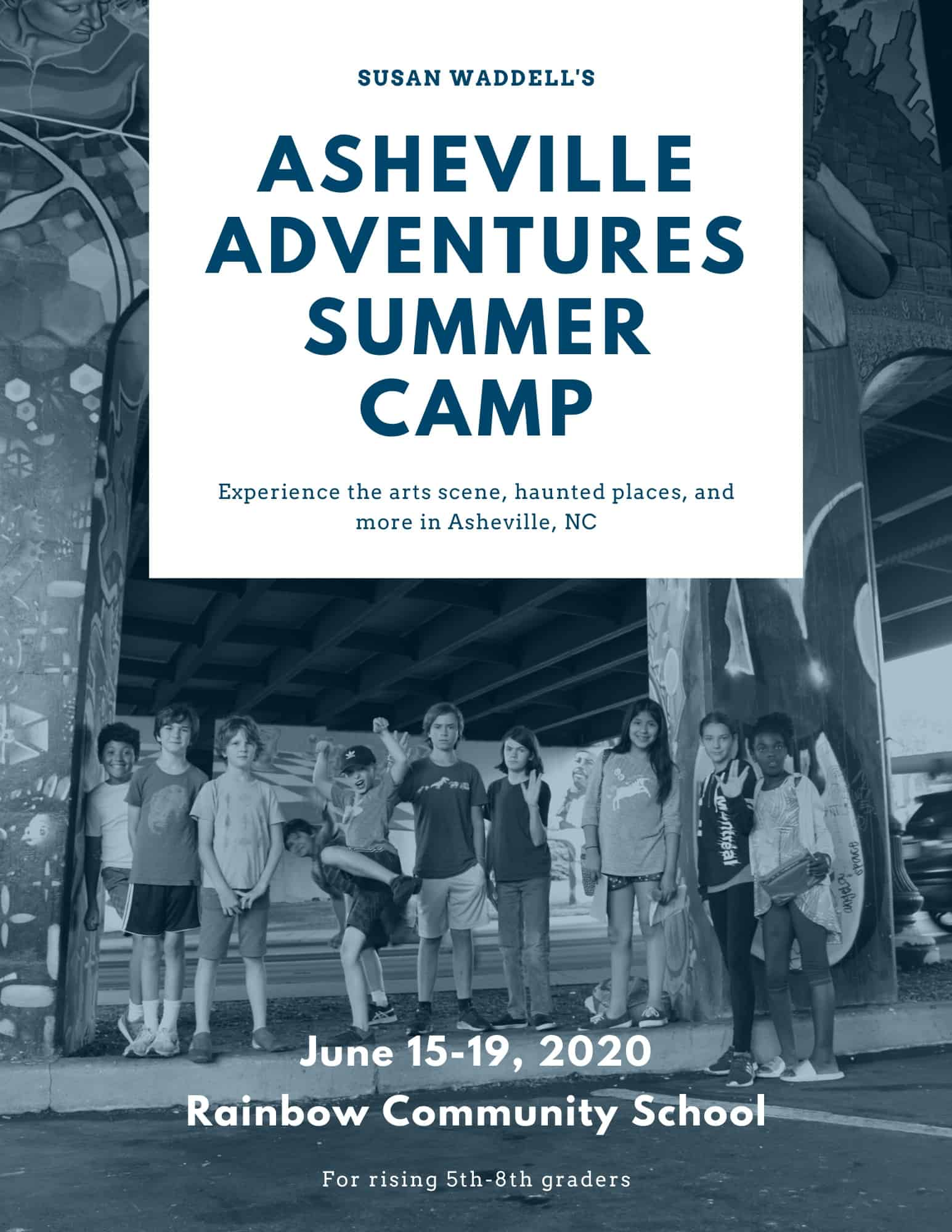 asheville adventures summer camp