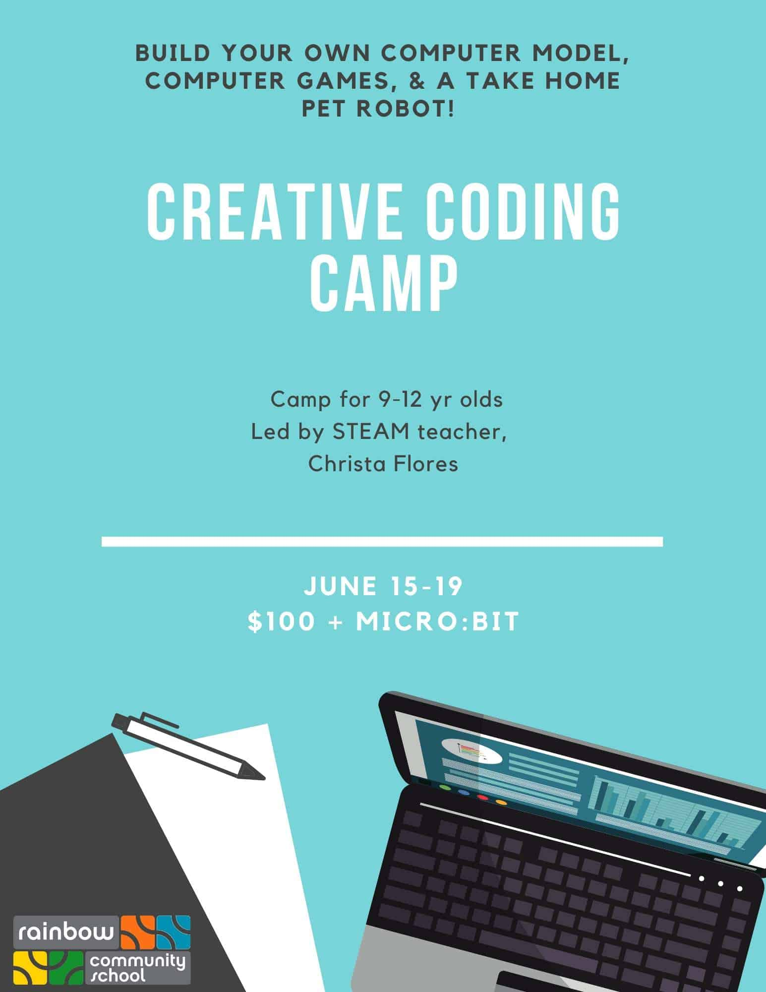 creative coding camp